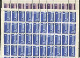 1958 Turchia Turkey EUROPA CEPT EUROPE 50 Serie Di 2v. In Foglio MNH** Sheets - Europa-CEPT