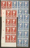 1958 Olanda Holland Nederland EUROPA CEPT EUROPE 12 Serie Di 2v. MNH** - Europa-CEPT