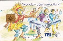 ANTILLES St.MAARTEN - Celebration Carnival (GEM1B) , 120 U, 1999, Used - Antilles (Netherlands)