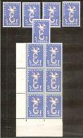 1958 Belgio Belgium EUROPA CEPT EUROPE 11 Valori 5f MNH** - Europa-CEPT