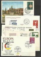 1958 1987  Europa CEPT Europe CONFERENZA EUROPEA 5 FDC - Europa-CEPT