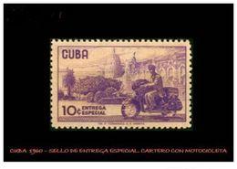 CUBA/KUBA 1960 ENTREGA ESPECIAL MNH - Cuba