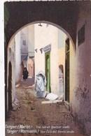 TANGER - UE RUE DU QUARTIER ARABE - Tanger
