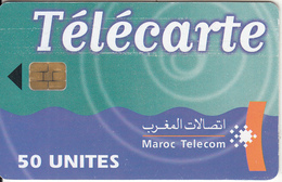 MOROCCO - Maroc Telecom 50 Unites, 06/01, Chip Siemens 37, Used - Morocco