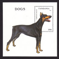 Tanzania, Scott #1151, Mint Never Hinged, Dogs, Issued 1993 - Tanzania (1964-...)