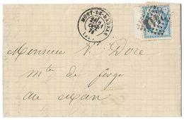 LETTRE Avec N°60/1;  11G1  2/3 ÉTAT   BdF TTB - 1871-1875 Cérès