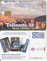 MOROCCO - City View, Sur La Route Des Kasbahs, Maroc Telecom 60 Dh, Chip Siemens 35, 05/03, Used - Morocco