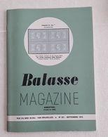 Balasse Magazine 221 - Septembre 1975 - Magazines