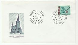 1966 LUXEMBOURG EUROPE DAY  EVENT COVER  Europa Stamps - Luxembourg