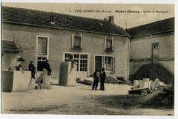 CHALINDREY  Atelier De Sculpture Maison GIBOURG, - Chalindrey