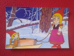 POSTAL POST CARD POSTCARD CARTE POSTALE SERIE TV TVE NOELI COLECCIÓN AÑO 1986 Nº 11 PHOSKITOS VER FOTO/S Y DESCRIPCIÓN - Cómics