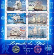 FRANCE 1999 Ships Mi 3414/3419 Yv 3273/3278 Fine Used 6 Stamps - France