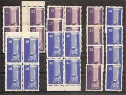 1958 Turchia Turkey EUROPA CEPT EUROPE 16 Serie Di 2v. MNH** - Europa-CEPT