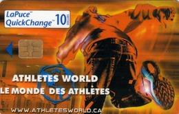 CANADA - Athletes World , 11/00,  Used - Canada