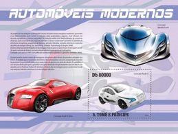 S. TOME & PRINCIPE 2010 - Audi, Mazda - YT BF529, Mi Bl.749 - Autos