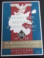 Postkarte Postcard - Reichstagung Der Auslandsdeutschen 1938 - Deutschland