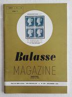 Balasse Magazine 229 - Décembre 1976 - Français (àpd. 1941)