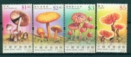 HONG KONG CHINA 1153/56 Champignons - 1997-... Région Administrative Chinoise