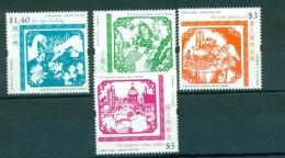 HONG KONG CHINA 1217/20 Littérature - Hans Christian Andersen (contes) - 1997-... Région Administrative Chinoise