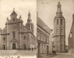 Zele : Kerk ---- 2 Kaarten - Zele