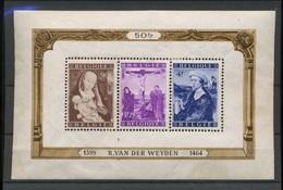 BF Van Der Weyden    Gomme Altérée Et Partielle  Cote 170,-E - Blocks & Sheetlets 1924-1960