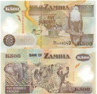 Zambia - 500 Kwacha 2006 UNC Lemberg-Zp - Zambia