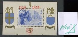Curiosité Bloc Orval Surchargé * - Blocks & Kleinbögen 1924-1960