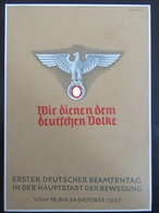 Postkarte Postcard - Propaganda - Beamtentag München Hauptstadt Der Bewegung 1937 - Deutschland