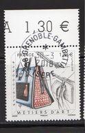 France 2018.Métiers D'Art.Maroquinier.Cachet Rond Gomme D'origine. - France