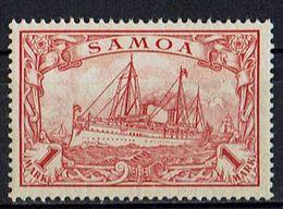 Samoa 1900/1901 // Michel 16 * (020.320) - Colony: Samoa