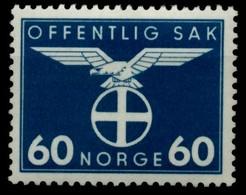 NORWEGEN DIENST Nr 53 Postfrisch X915EBA - Dienstmarken