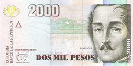 Colombia - Pick 457 - 2000 Pesos 2013 - Unc - Colombie