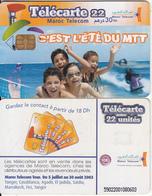 MOROCCO - C'est L'été Du MTT, Maroc Telecom 30 Dh, Chip Siemens 35, Used - Morocco