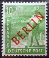 BERLIN                N° 4 B               NEUF* - Neufs