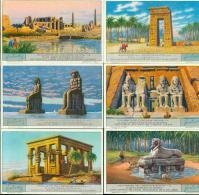 LIEBIG : S_1248 : 'Monuments De L'ancienne Egypte - Group Games, Parlour Games