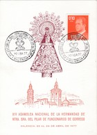 Valencia : Asamblea Nacional De La Hermandad De Ntra. Sra Del Pilar De Funcionarios De Correos 1977 - España