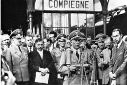 """WW2  -   Laval à La Cérémonie De """"la Relève"""" à Compiègne  Le 11.08.1942  - - 1939-45"""
