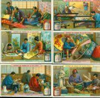 LIEBIG : S_1180 - 'Métiers Artistiques Au Japon - Liebig