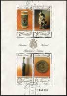 1991-ED. 3115 H.B.-PATRIMONIO.PORCELANA Y CERAMICA.-USADO - Blocs & Hojas