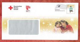 Infopost, Deutsches Rotes Kreuz, Weihnachtsbaer, Frankierwelle (49031) - Machine Stamps (ATM)