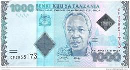 Tanzania - Pick 41 - 1000 Shilingi 2011 - Unc - Tanzanie