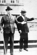 WW1  -  Le Maréchal Pétain Et Pierre Laval à Vichy En 1942 - 1939-45