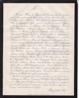 PASSY Emmanuel COCHON Comte De LAPPARENT Ancien Préfet Officier De La Légion D'honneur 93 Ans 1870 BERARD TOURRANGIN - Obituary Notices