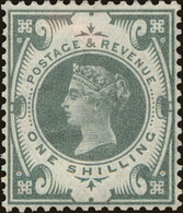 Great Britain Scott #122, 1887, Stanley Gibbons No., Hinged - 1840-1901 (Viktoria)
