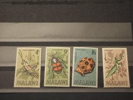 MALAWI - 1970 INSETTI 4 VALORI - NUOVO(++) - Malawi (1964-...)
