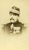 France Paris Militaire Officier Medailles Ancienne CDV Photo Flamant 1870 - Photographs