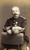 France Quimper Militaire Soldat Dedicace Ancienne CDV Photo Villard 1870 - Photographs