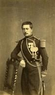 France Militaire Officier Medailles Ancienne CDV Photo Anonyme 1870 - Photos