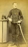 France Douai Militaire Officier Sabre Ancienne CDV Photo Decalonne 1870 - Photographs