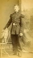 France Arras Militaire Officier Ancienne CDV Photo Chretien 1870 - Photographs